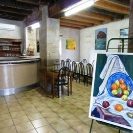salle détente du Gite Nature de la Manufacture Royale de Bains - Location de vacances - Bains-les-Bains