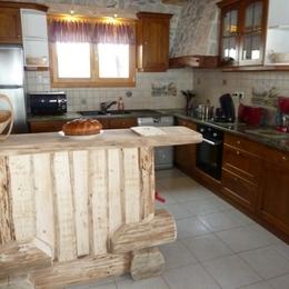 La cuisine - Location de vacances - La Bresse