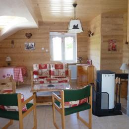 le salon - Location de vacances - Gérardmer