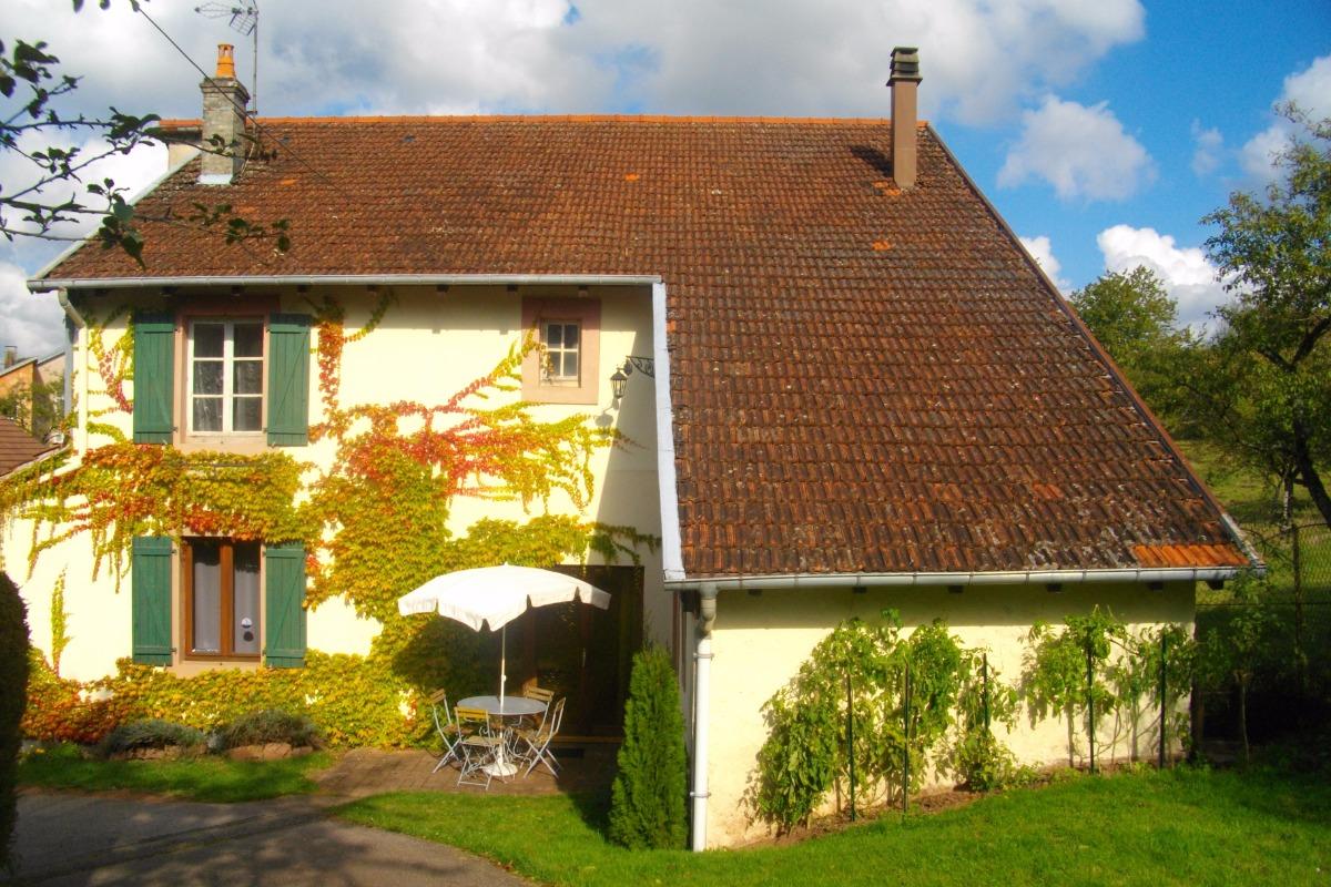 Gite du pré Bouquin en automne - Location de vacances - Ménil-de-Senones
