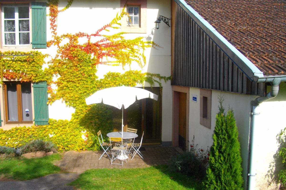 L'hiver à Menil de Senones  . - Location de vacances - Ménil-de-Senones