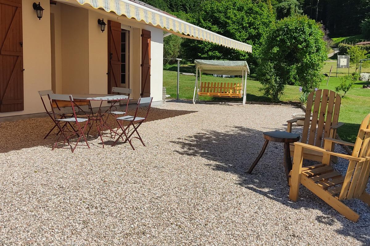 Gîte le Buisson - Extérieur - Location de vacances - Aumontzey