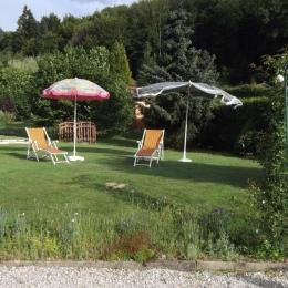 Gîte le Buisson - Terrasse - Location de vacances - Aumontzey