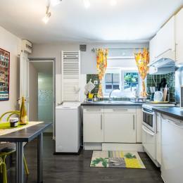 vue cuisine - Location de vacances - Gérardmer