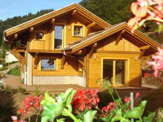 Chalet Jany à La Bresse - Terrasse privative - Location de vacances - La Bresse