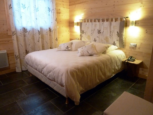 Chalet Jany à La Bresse - Chambre RDC - Location de vacances - La Bresse