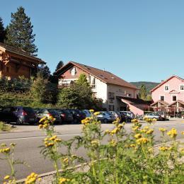 Chalet Marlène à La Bresse - Vue depuis la route - Location de vacances - La Bresse