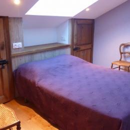 Chambre étageApt. Violettes - Domaine Moulin des Courbières entre la Bresse et Gérardmer - Location de vacances - Gerbamont