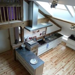 La cuisine - Location de vacances - Brouvelieures