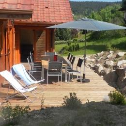Espace détente avec sauna et jacuzzi. - Location de vacances - Xonrupt-Longemer