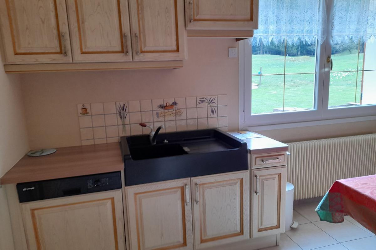 grande cuisine/séjour location Xonrupt longemer - Location de vacances - Xonrupt-Longemer