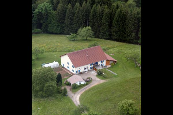 Vue aérienne - Gite à le Girmont Val d'AJol Vosges - Location de vacances - Girmont-Val-d'Ajol
