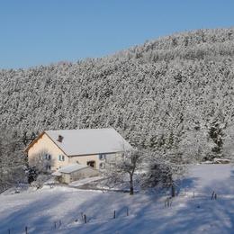 Maison hiver - Gite à le Girmont Val d'AJol Vosges - Location de vacances - Girmont-Val-d'Ajol