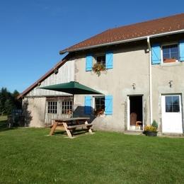 Gîte côté jardin - Gite à le Girmont Val d'AJol Vosges - Location de vacances - Girmont-Val-d'Ajol