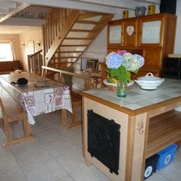Pièce de vie - Gite à le Girmont Val d'AJol Vosges - Location de vacances - Girmont-Val-d'Ajol