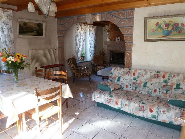 le séjour/salon - Location de vacances - Granges-sur-Vologne