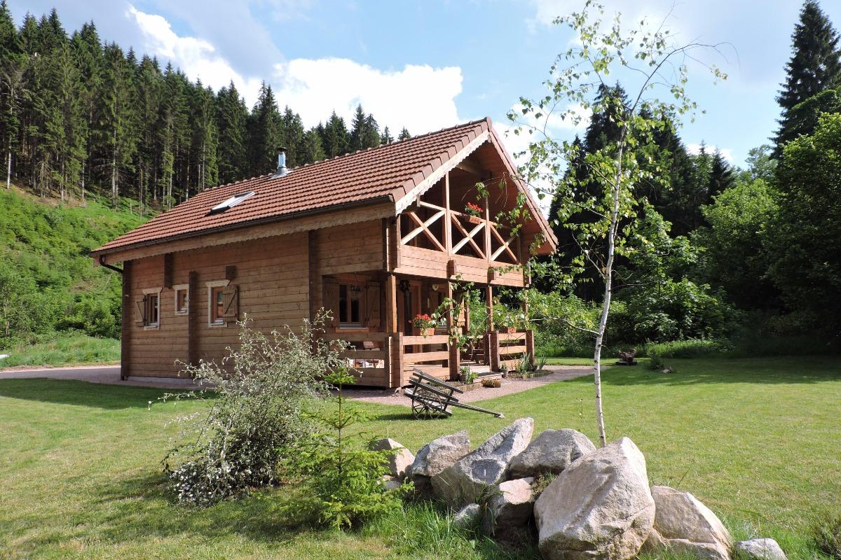 Chalet en hiver - Location de vacances - Gérardmer