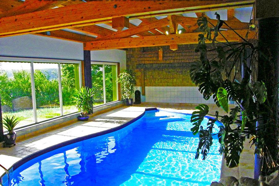 Chalet + piscine à usage privé - Location de vacances - Gérardmer