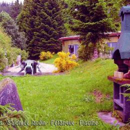 Grillades, Salon de jardin, Pétanque, Piscine - Location de vacances - Gérardmer