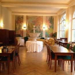 Salle commune Résidence Les Acacias Plombieres les Bains Vosges - Location de vacances - Plombières-les-Bains