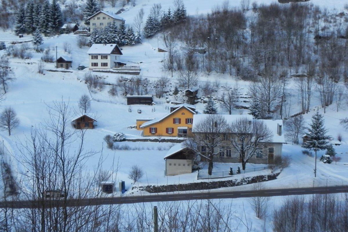 gîte du Pré Noël en hiver - Location de vacances - La Bresse