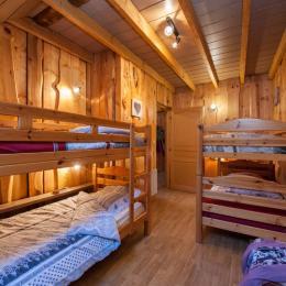 1 ère chambre de 4 personnes  - Location de vacances - La Bresse