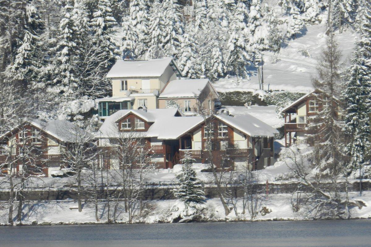 les Prairies du Lac sous la neige - Location de vacances - Gérardmer