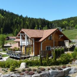 Vue et environnement Chalet Sylvaroc Vosges - Location de vacances - Xonrupt-Longemer
