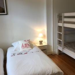 chambre Les Chamois 4 lits - Le Chamois Gérardmer - Location de vacances - Gérardmer