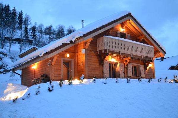 Le chalet d'Ella sous la neige - Location de vacances - La Bresse