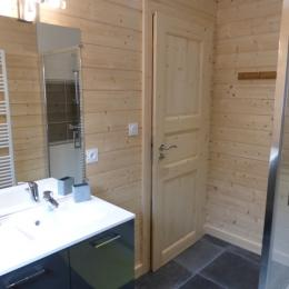 Salle de bain RDC - Location de vacances - La Bresse