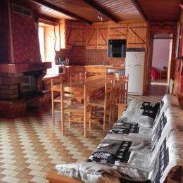 la pièce principale - Location de vacances - La Bresse