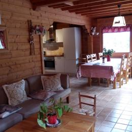 pièce à vivre - Location de vacances - La Bresse