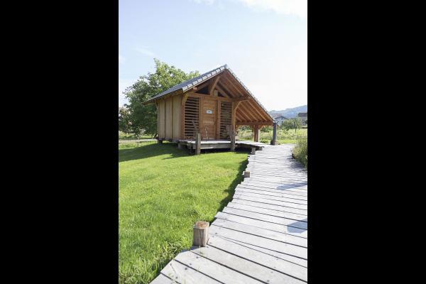 Espace toilette - Chambre d'hôtes - Le Val-d'Ajol