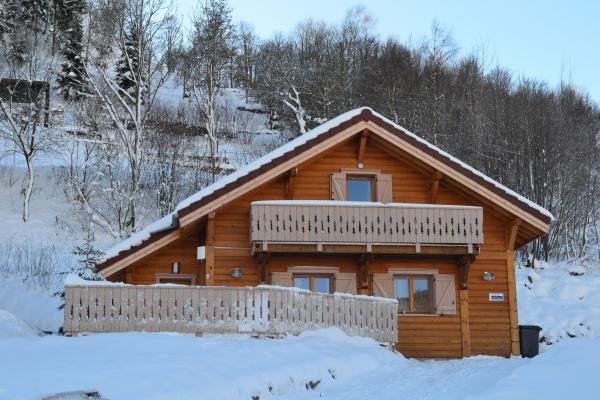 Chalet de Pauline en hiver - Location de vacances - La Bresse