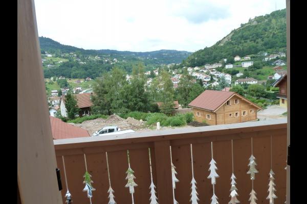 Vue balcon mezzanine - Location de vacances - La Bresse