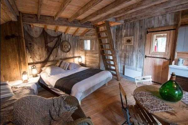Cabane du pêcheur - Chambre d'hôtes - La Bresse