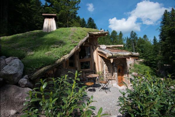 Hobbit maison Vosges - Chambre d'hôtes - La Bresse