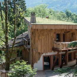 Couleurs d'Automne - passerelle et terrasse privative - Chambre d'hôtes - La Bresse