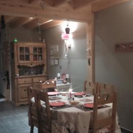 Salle de petit déjeuner et diner - Chambre d'hôtes - Xonrupt-Longemer