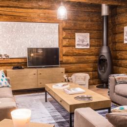 Le salon  - Location de vacances - Liézey