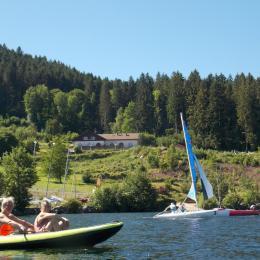 Piscine vue lac, solarium vue lac, ...  - Location de vacances - Gérardmer