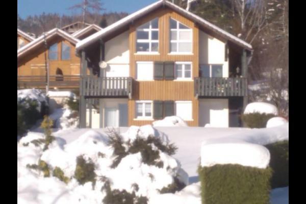 Extérieur en hiver - Location de vacances - Gérardmer