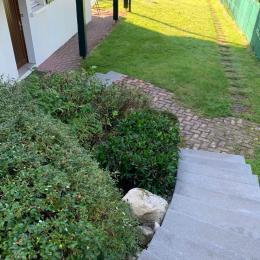 Accès par un escalier extérieur  - Location de vacances - Gérardmer