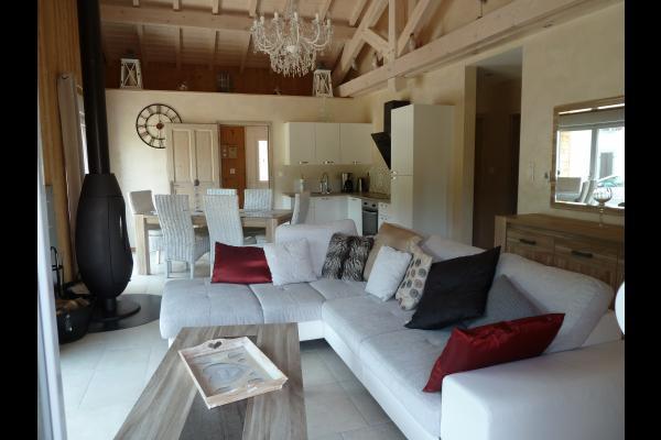 Le salon/séjour - Location de vacances - Gérardmer