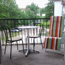le balcon - Location de vacances - Bains-les-Bains