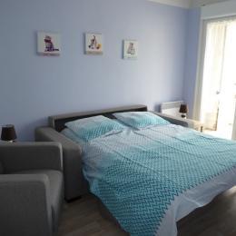 Salon configuration lit - Location de vacances - Bains-les-Bains