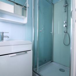 1ère salle d'eau - Location de vacances - Bains-les-Bains