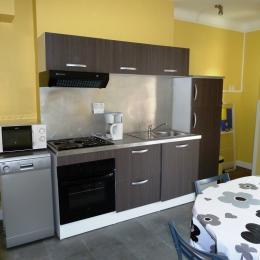 la cuisine - Location de vacances - Bains-les-Bains