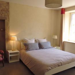 Le Feigne Georges - la chambre (lit 160-200) - Chambre d'hôtes - Plombières-les-Bains